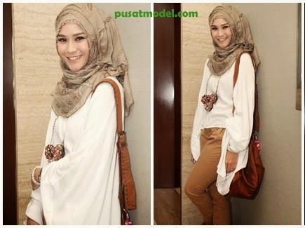 Model Busana Hijab Ala Zaskia Adya Mecca Pusat Model