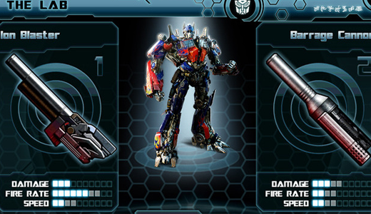 Transformers:Dark of The Moon HD