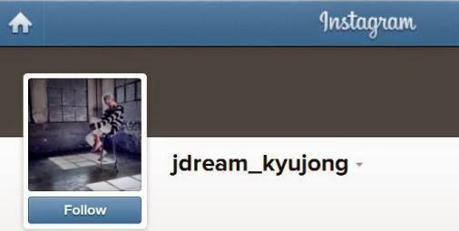 http://instagram.com/jdream_kyujong