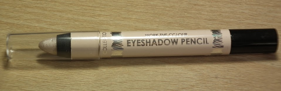 Collection Work The Colour Eye Shadow Pencil Vanilla Sky Swatches