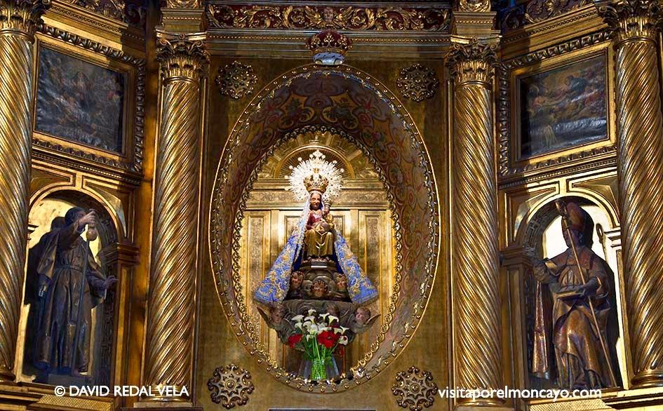 Imagen de la Virgen Nuestra Señora de los Milagros de Agreda