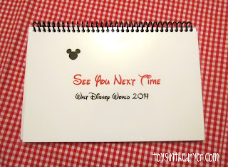 Disney autograph book