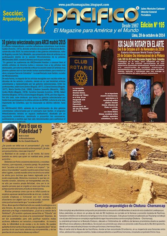 Revista Pacífico Nº 195 Arqueología