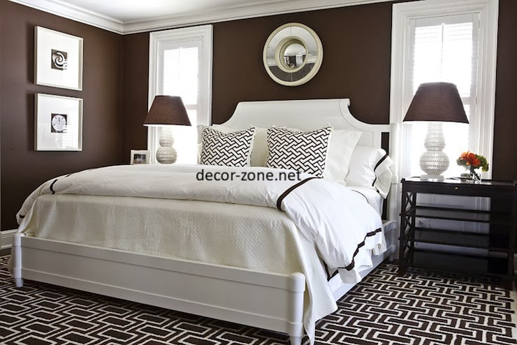 Modern bedroom designs in a brown color - Modern bedroom colors ...