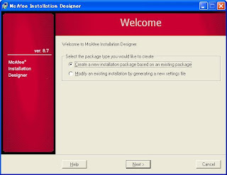 McAfee Installation Designer 8.8.0 HotFix 723832