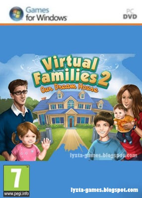 Virtual families 2 our dream house lyzta games for Virtual dream home builder
