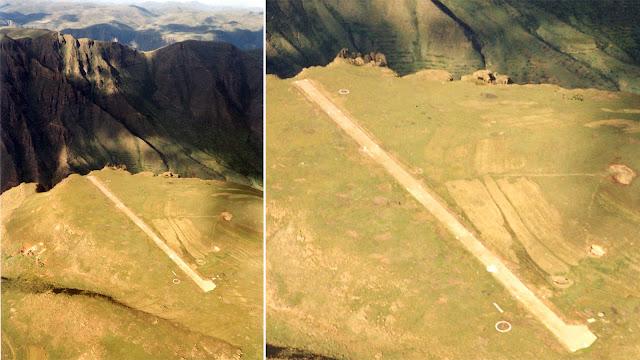 Aeropuertos terroríficos: Matekane Air Strip