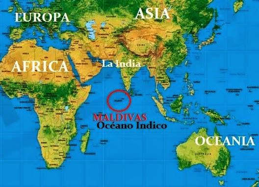 Mapa Oceano