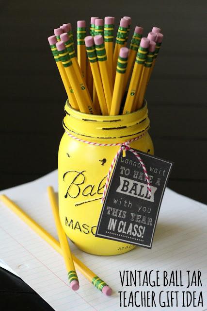 back to school mason jar gift craft