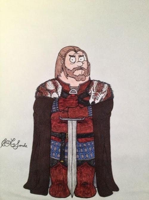 01-Seth-MacFarlane-Peter-Griffin-Sean-Bean-Eddard-Ned-Stark-timburtongameofthrone-Family-Guy-Game-of-Thrones-Mashup-www-designstack-co