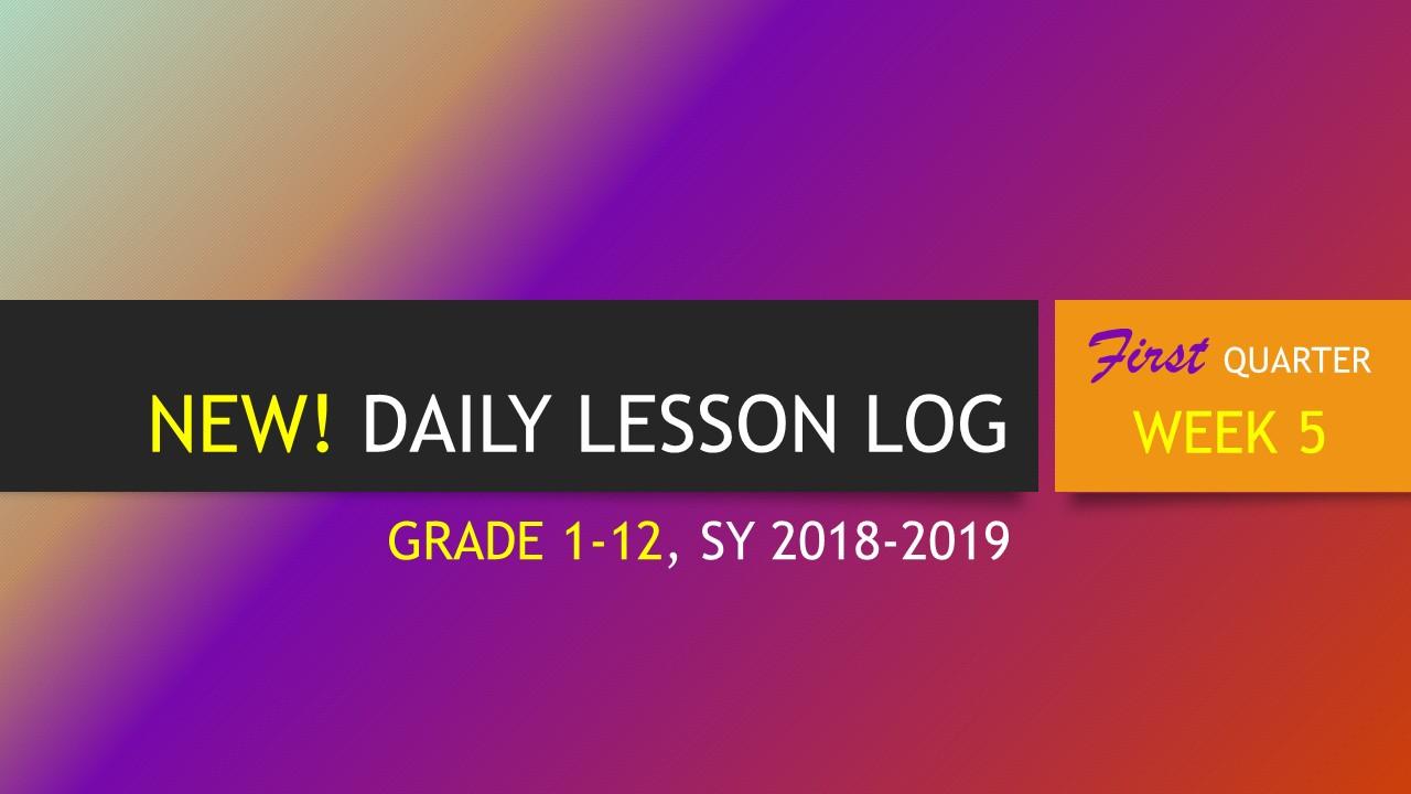 DLL, Quarter 1 Week 7