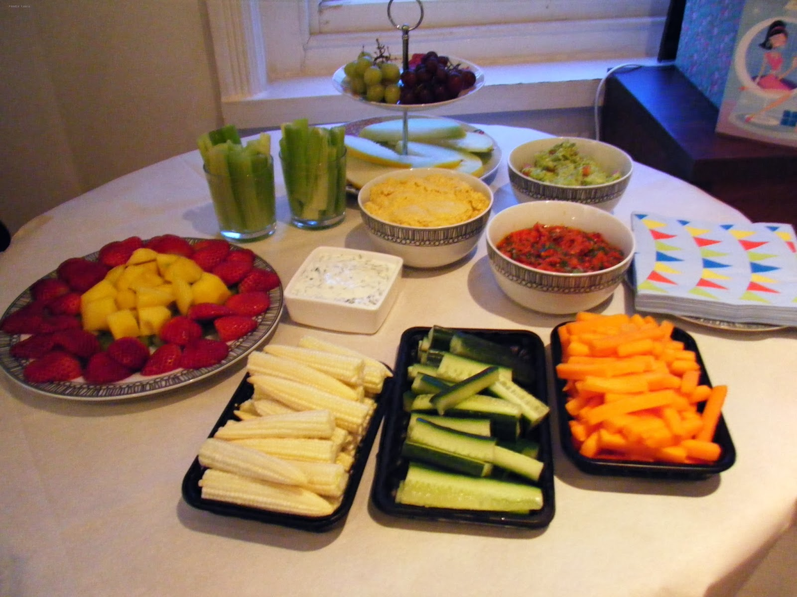 healthy party foods snacks