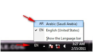 Cara install font arab dan setting bahasa arab di windows 7