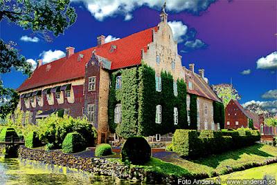 trolle ljungby, slott, trolle-wachtmeister, ljungby horn och pipa, skåne, sverige, skånska slott, skånskt slott, foto anders n