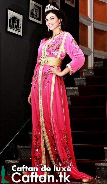 Caftan 2014 | Robe de mariée rose