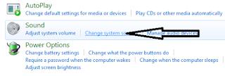 Cara mengganti Sound Windows 7