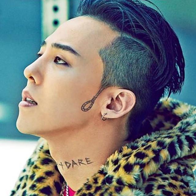 bigbang g-dragon 刺青