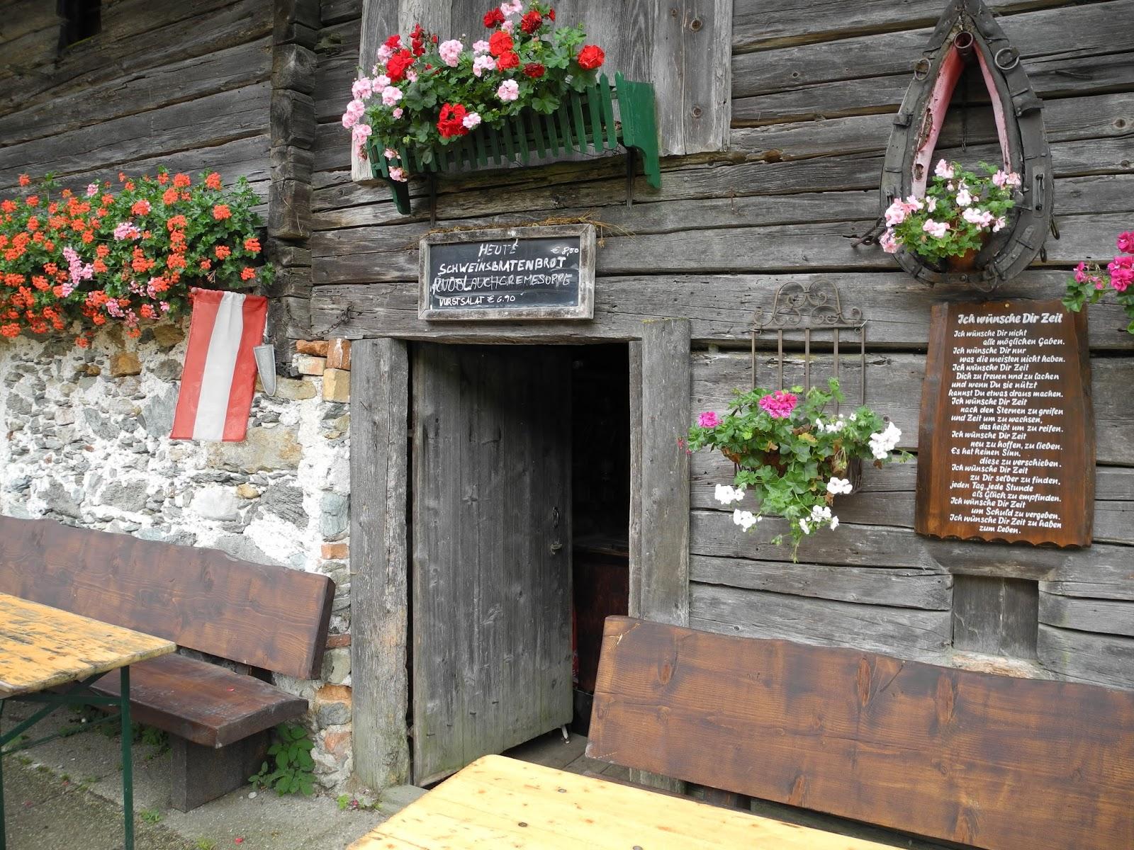 Eingang Halseralm Pichl Schladming Dachstein