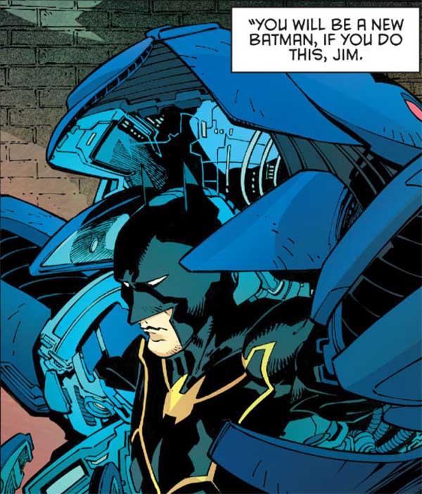 Jim Gordon Batman, by Snyder y Capullo