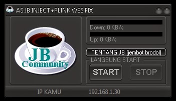Inject Telkomsel AS JB + Plink Wes Fix 27 April 2015