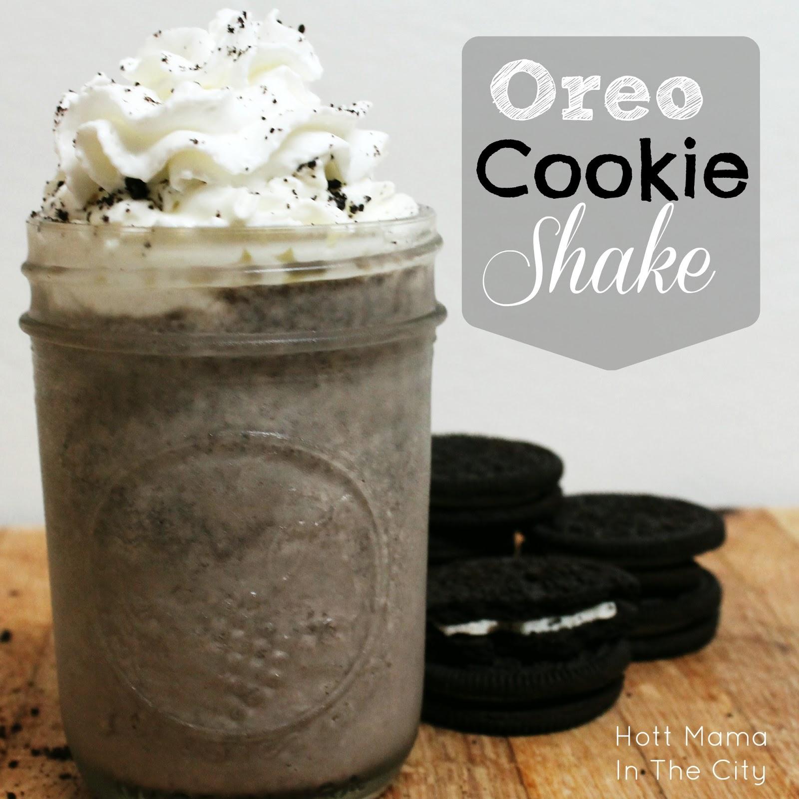 how to make oreo cookie milkshake