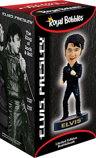 Elvis 68 Comeback Special Bobblehead Box from Bobbleheads.com