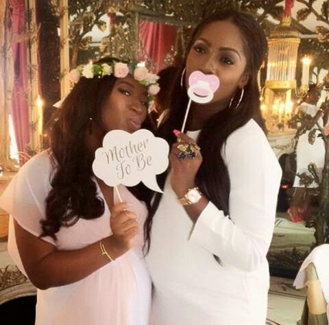 Photos from Simi Esiri's baby shower..announces she's having a girl 1