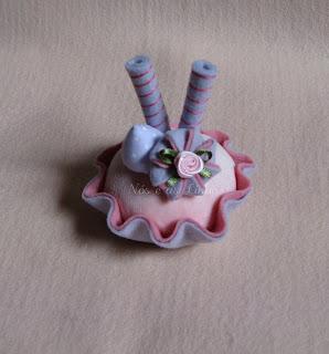 cupcake docinhos de feltro