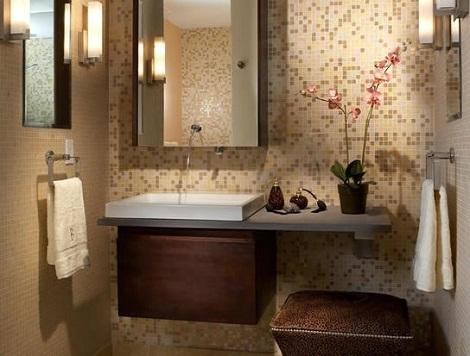 ديكورات حمامات 2013