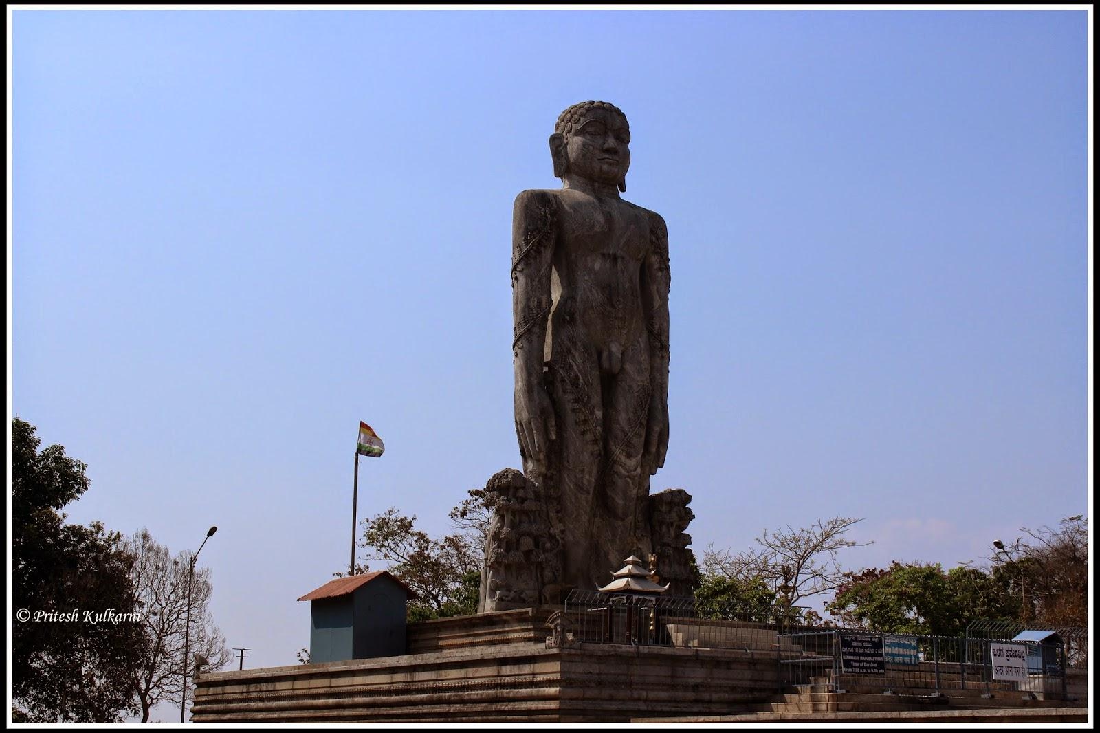 Bhahubali Staatue at Dharmsthala