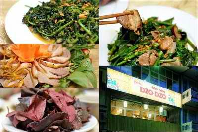 Nhà hàng Dzo Dzo - Thơm lừng lợn rừng ống tre nướng than hoa, địa điểm ăn uống 365