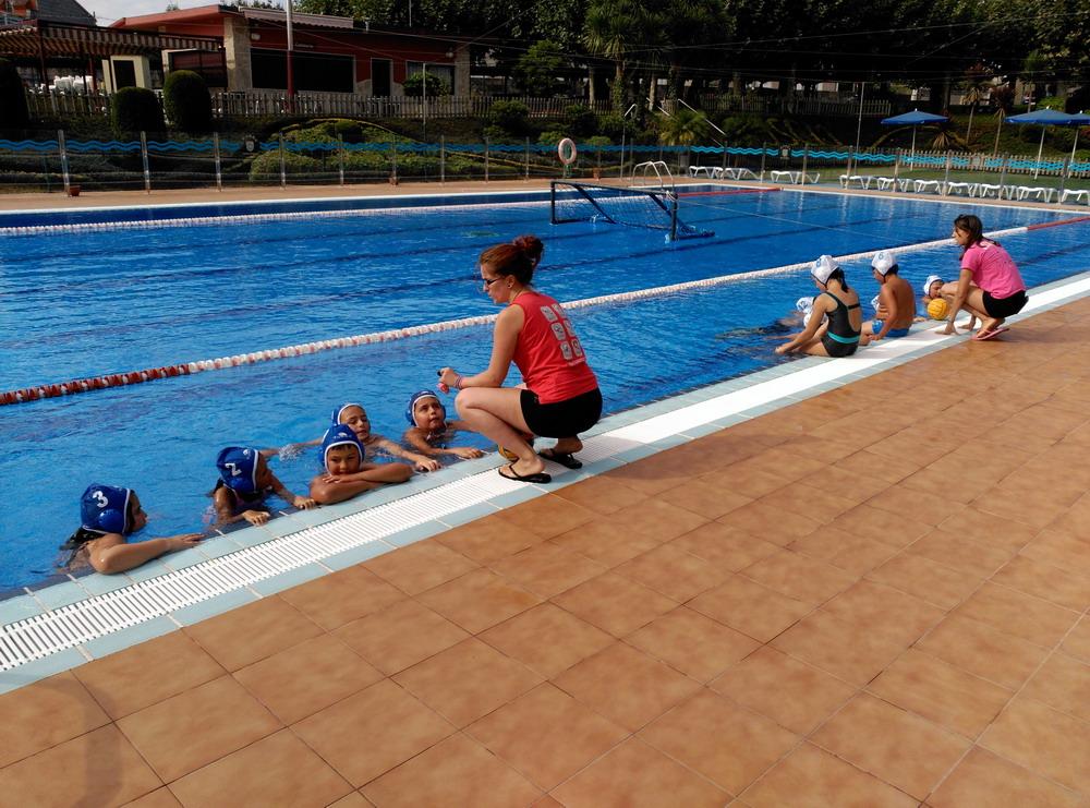 Waterpolo pontevedra blog clausurado con xito el campus for Piscina campolongo