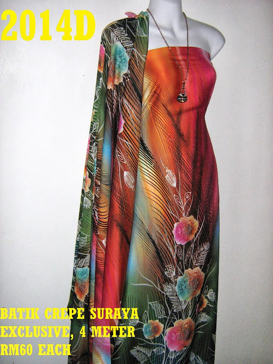 BS 2014D: BATIK CREPE SURAYA EXCLUSIVE, 4 METER
