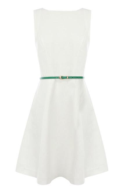 oasis white dress