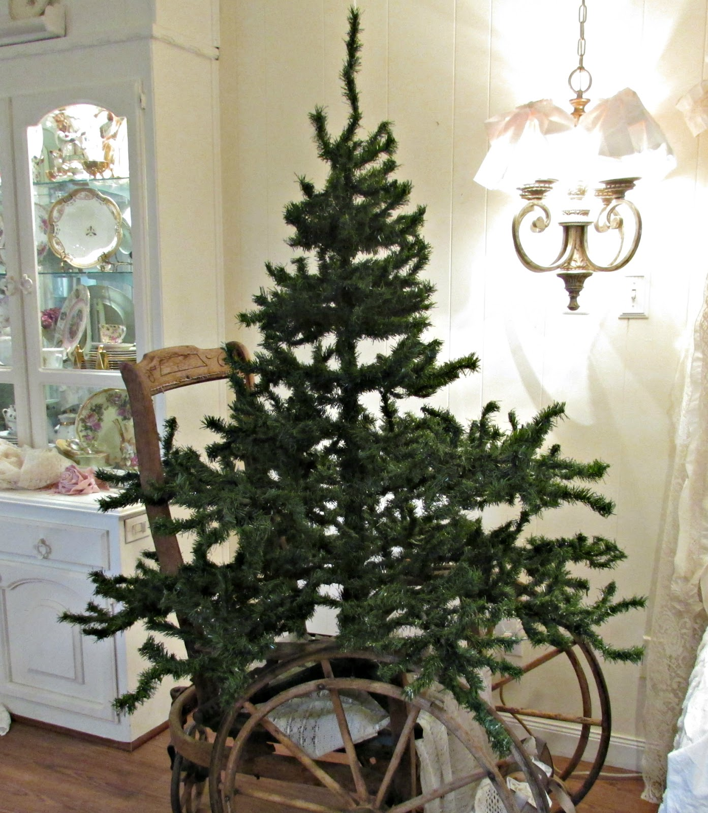 penny 39 s vintage home short fat christmas tree