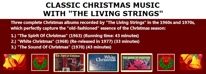 classic christmas music with the living strings - Classic Christmas Music
