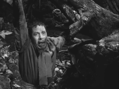 Theologian Raval Succumbs to The Black Plague, The Seventh Seal, directed by Ingmar Bergman