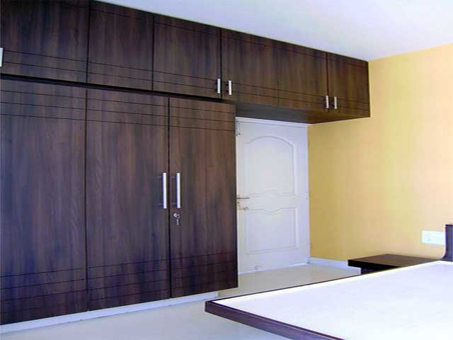 Indian Bedroom Wardrobe Designs With Dressing Table