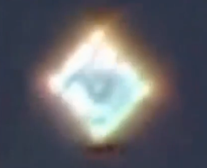 All Seeing Eye UFO Over Lima, Peru