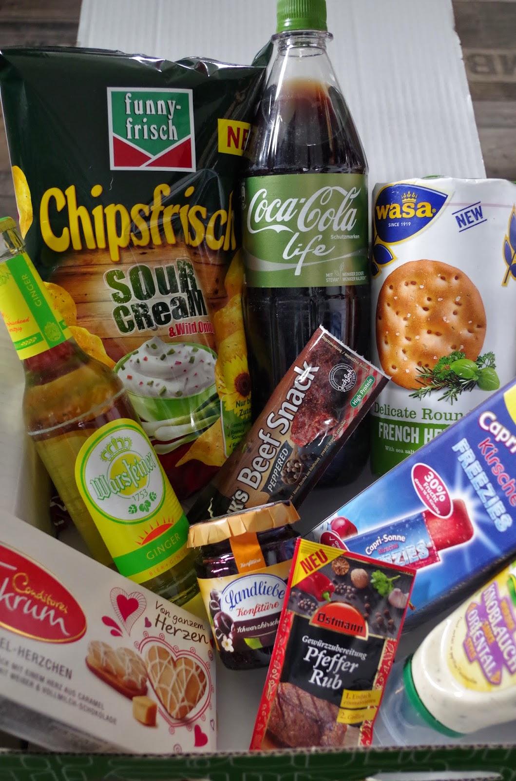 Überraschung, Boxen, Lebensmittel