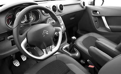 Novo Citroën C3 destaque para o pára-brisa Zenith