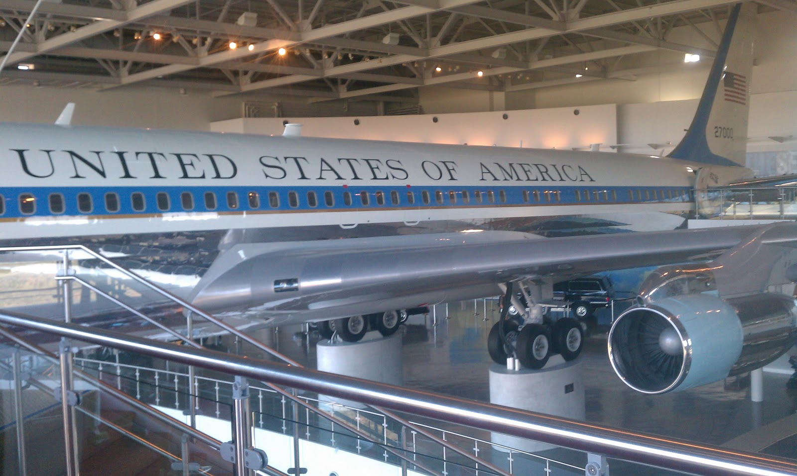 Inside Air Force One Plane The Landfillharmonic