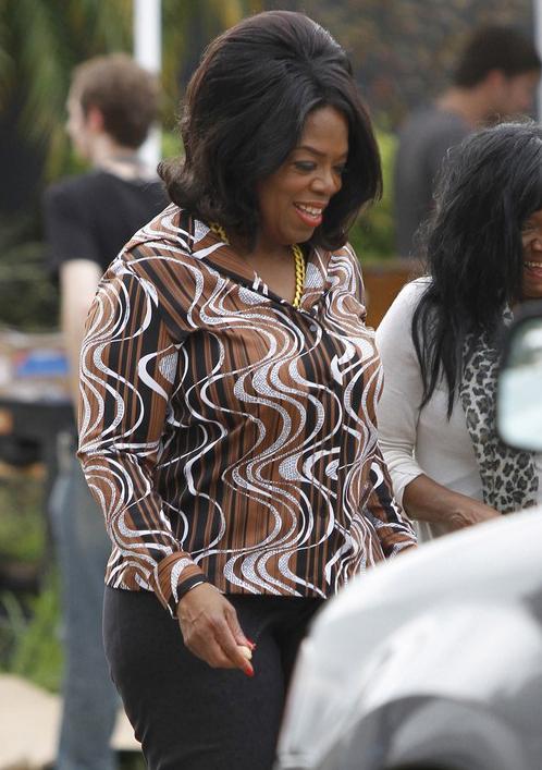 Oprah Winfrey Reports To The Set Of 'The Butler' » Gossip | Oprah Winfrey