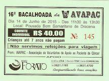 16ª BACALHOADA DA AVAPAC