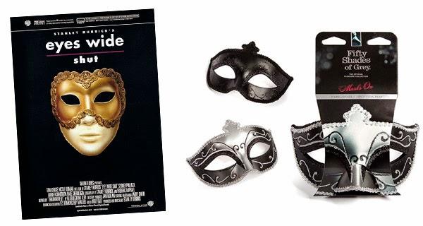 Máscaras 50 Sombras de Grey