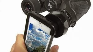 The iPhone Bincoculars