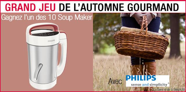 10 Soup Maker PHILIPS à gagner