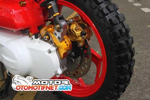 Modifikasi Yamaha X-Ride Untuk Kontes