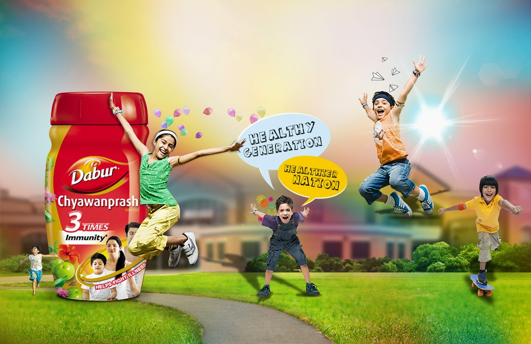 Healthy children dabur chyawanprash