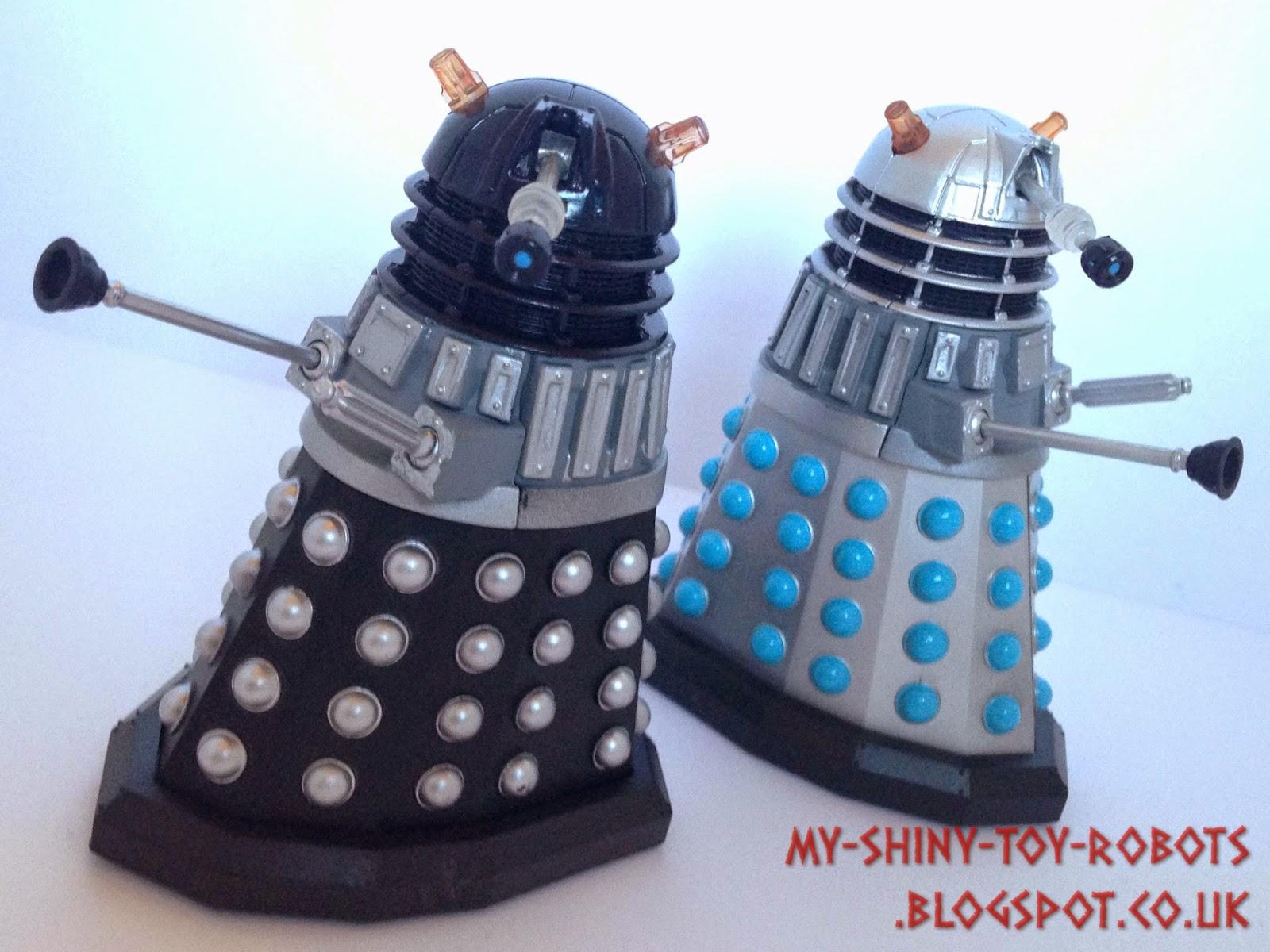 Posing the Daleks